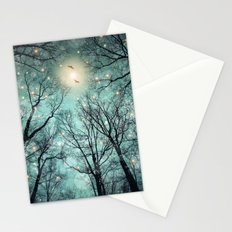 Nature Blazes Before Your Eyes (Mint Embers) Stationery Cards