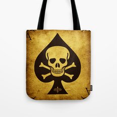 Death Card - Ace Of Spades Tote Bag