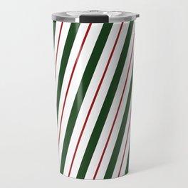 Peppermint Candy Cane Travel Mug