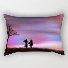 Monday Dawning Rectangular Pillow