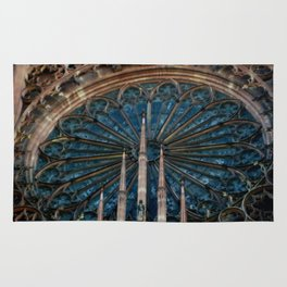 The Other Rose Window Rug