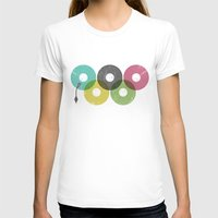 records T-shirts featuring Olympic Records by Jorge Lopez