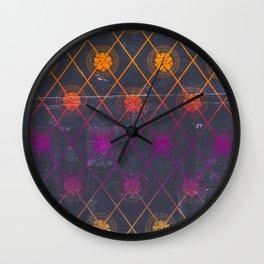 Mandala Repeat Wall Clock