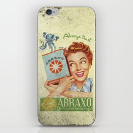 Abraxo - Custom Fallout Ad iPhone Skin