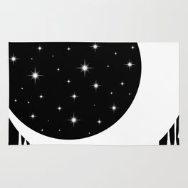 Invert Moon Rug