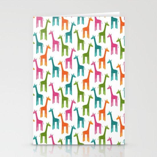 Giraffes Stationery Cards