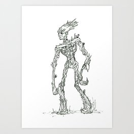 Wandering Tree Art Print