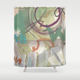 Wh Shower Curtain