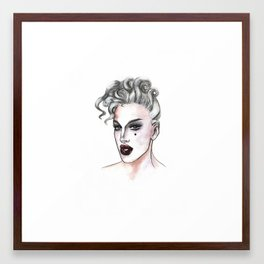 max the drag queen - max collective Framed Art Print