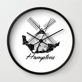 Hamptons, Long Island, New York, NY, Suffolk County, Beach, New York City, NYC, The Hamptons, © David Millenheft, DAM Creative, Wall Clock