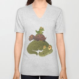 Swamp Squad Unisex V-Neck