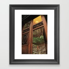 back to nature Framed Art Print