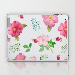 Rosehip Spring Garden Floral Pattern Laptop & iPad Skin