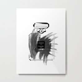 Black perfume #2 Metal Print