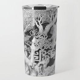 Surreal Tree Travel Mug
