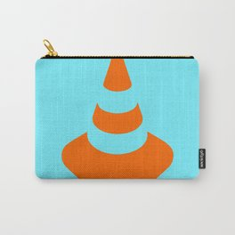 traffic  road cone safety pylon Whitc hat marker Carry-All Pouch