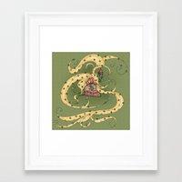 rapunzel Framed Art Prints featuring Rapunzel by Catru