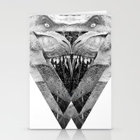 trex Stationery Cards featuring TREX by moln4rt