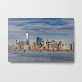 NYC Boat Metal Print