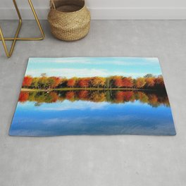 Lakeside, Autumn Rug