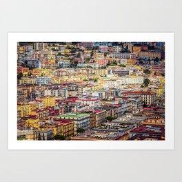 Bella Napoli Art Print