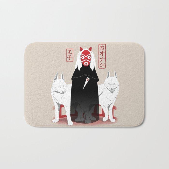 Ouji Kaonashi Bath Mat