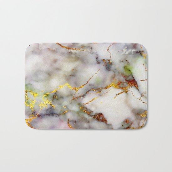 Marble Effect #5 Bath Mat
