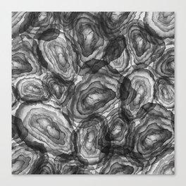 Cool Agates Canvas Print