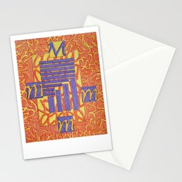 Mameia- Goddess of cocktail rings Stationery Cards