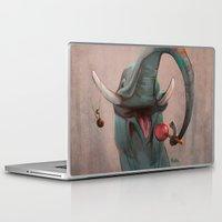 ellie goulding Laptop & iPad Skins featuring Lollipop Ellie by nekka