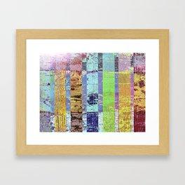 Wood on wood Framed Art Print