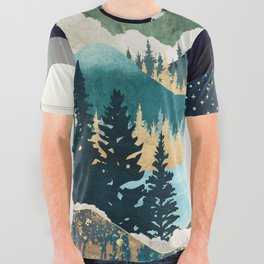 Star Lake All Over Graphic Tee