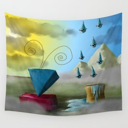 Hello Dali Wall Tapestry