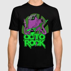 Octoro(c)k Mens Fitted Tee Black SMALL