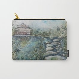 The Bamboo (Watercolor Painting) Carry-All Pouch