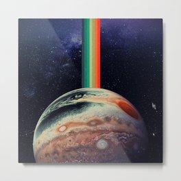 Retro Jupiter Metal Print