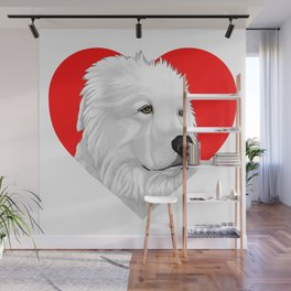 Great Pyrenees Wall Mural