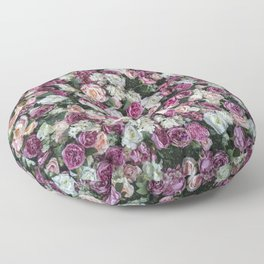 Flower carpet Floor Pillow