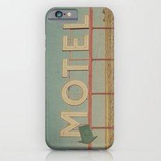 Vintage Motel Slim Case iPhone 6s