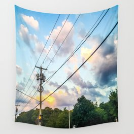 Cotton Candy Sky Wall Tapestry