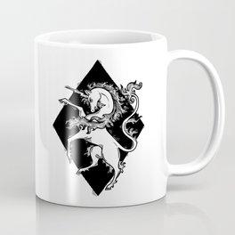 unicorn coat of arms Coffee Mug