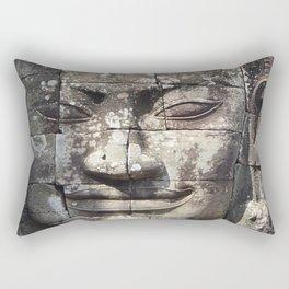 Bayon Temple Angkor Siem Reap Cambodia Rectangular Pillow