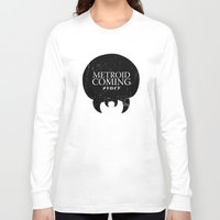 metroid Long Sleeve T-shirts featuring House Metroid by Alecxps