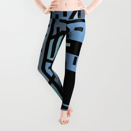 The sad hipster and the copper mosquito Leggings