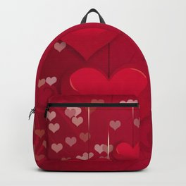 Love pattern art Backpack