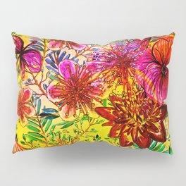 Tropical Hot Heat Flower Hibiscus Garden Pillow Sham