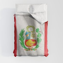 Peru Flag Comforters