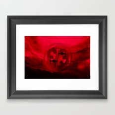 Star Wars Imperial Red Tie Fighters Framed Art Print