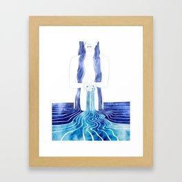 Eudora Framed Art Print