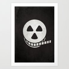 Horror Film Art Print